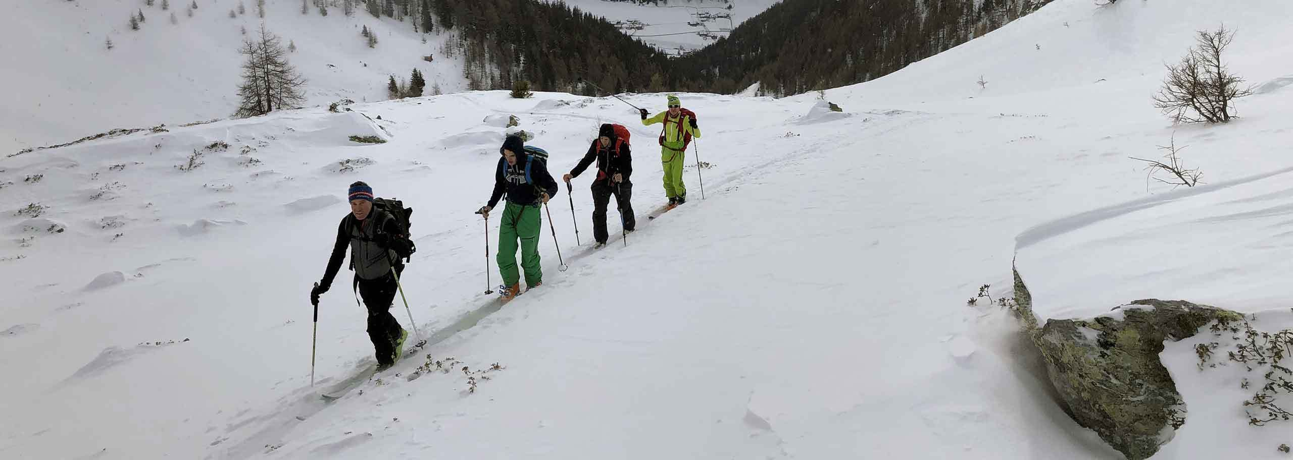 Ski Mountaineering in Limone Piemonte with Mountain Guide