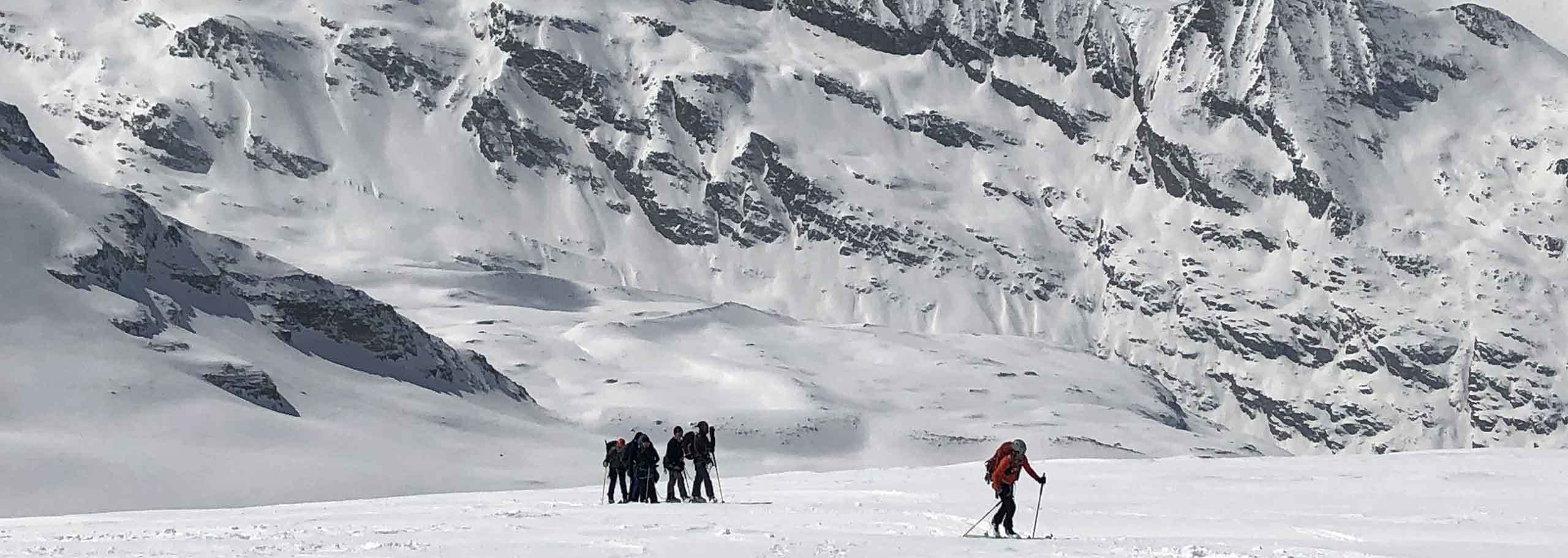 Ski Mountaineering in Cogne with Mountain Guide