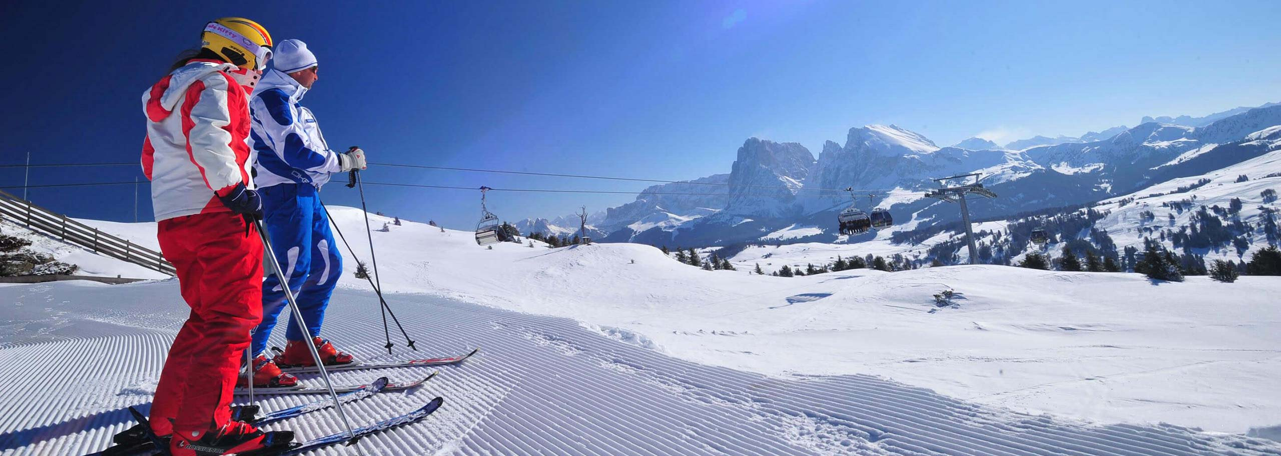 Ski Tour with a Mountain Guide in the Alpe di Siusi