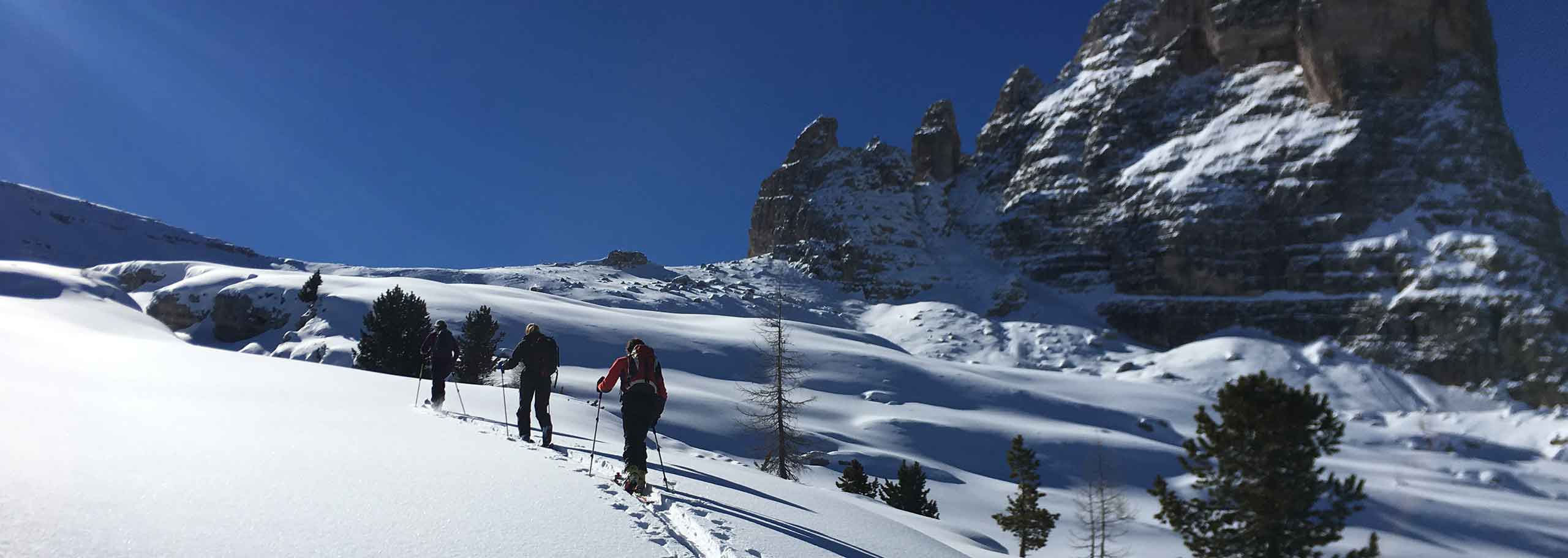 Ski Mountaineering with a Mountain Guide in Cortina d'Ampezzo