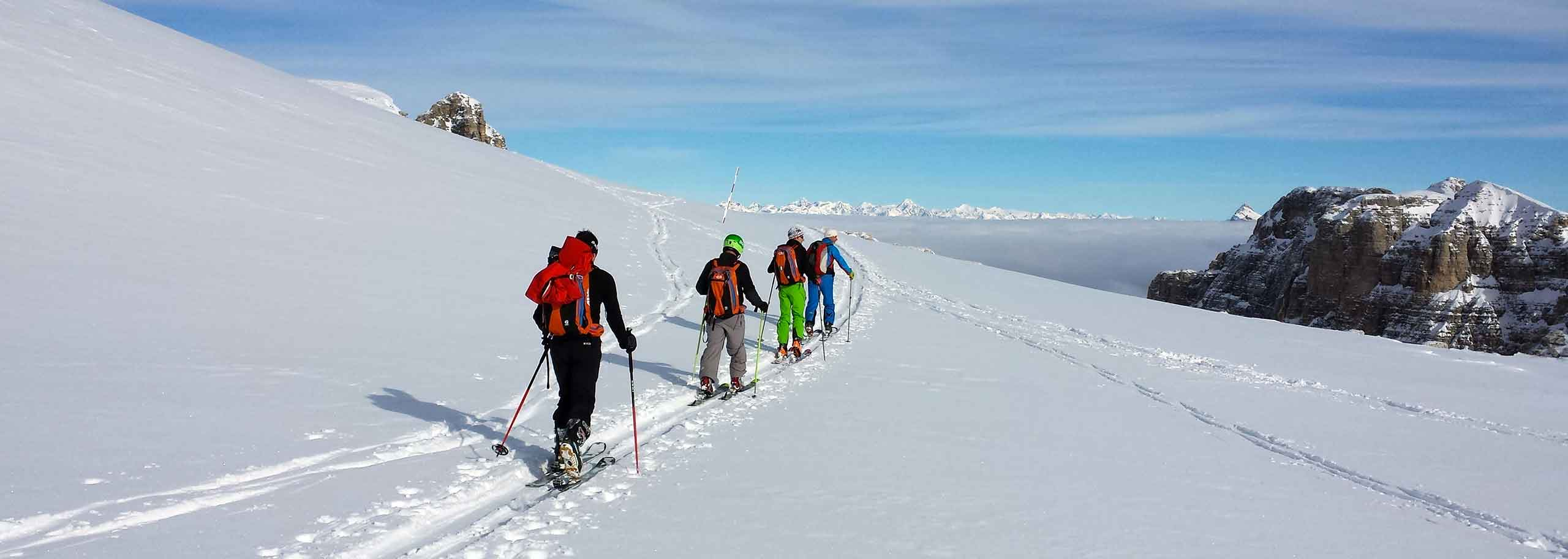 Ski Mountaineering with a Mountain Guide in Arabba