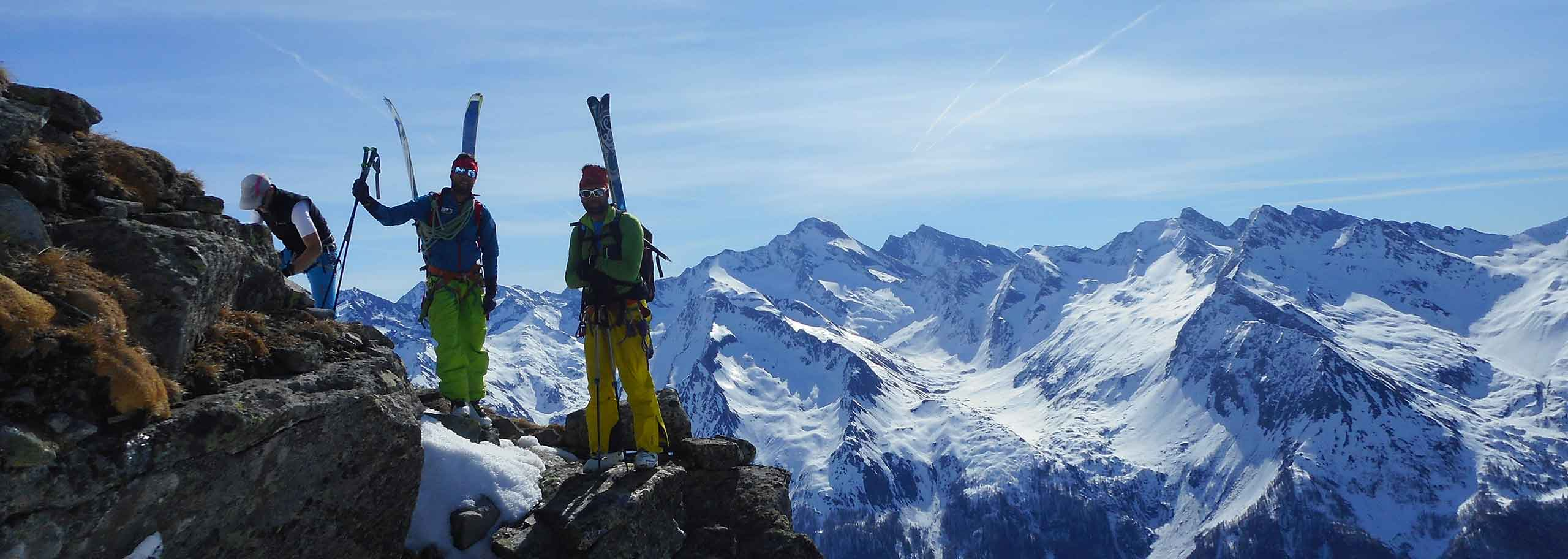 Ski Mountaineering with a Mountain Guide in Valle Aurina and Valle di Tures