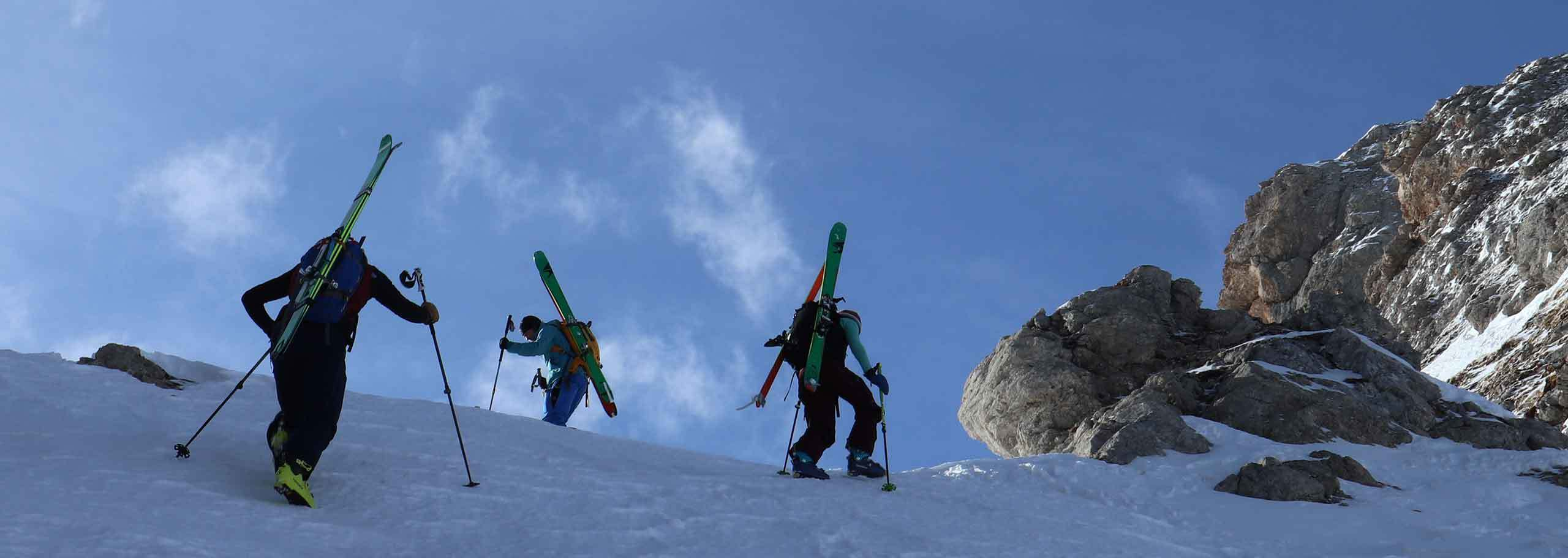Ski Mountaineering in Sestriere with Mountain Guide