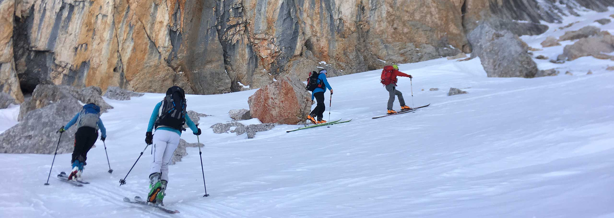 Ski Mountaineering with a Mountain Guide in San Martino di Castrozza