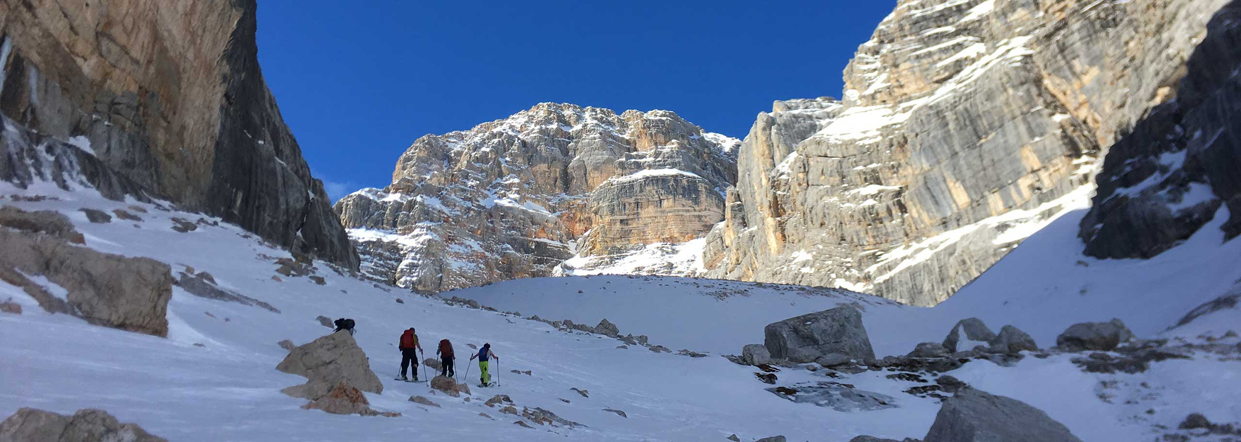 Ski Mountaineering with a Mountain Guide in Alta Badia