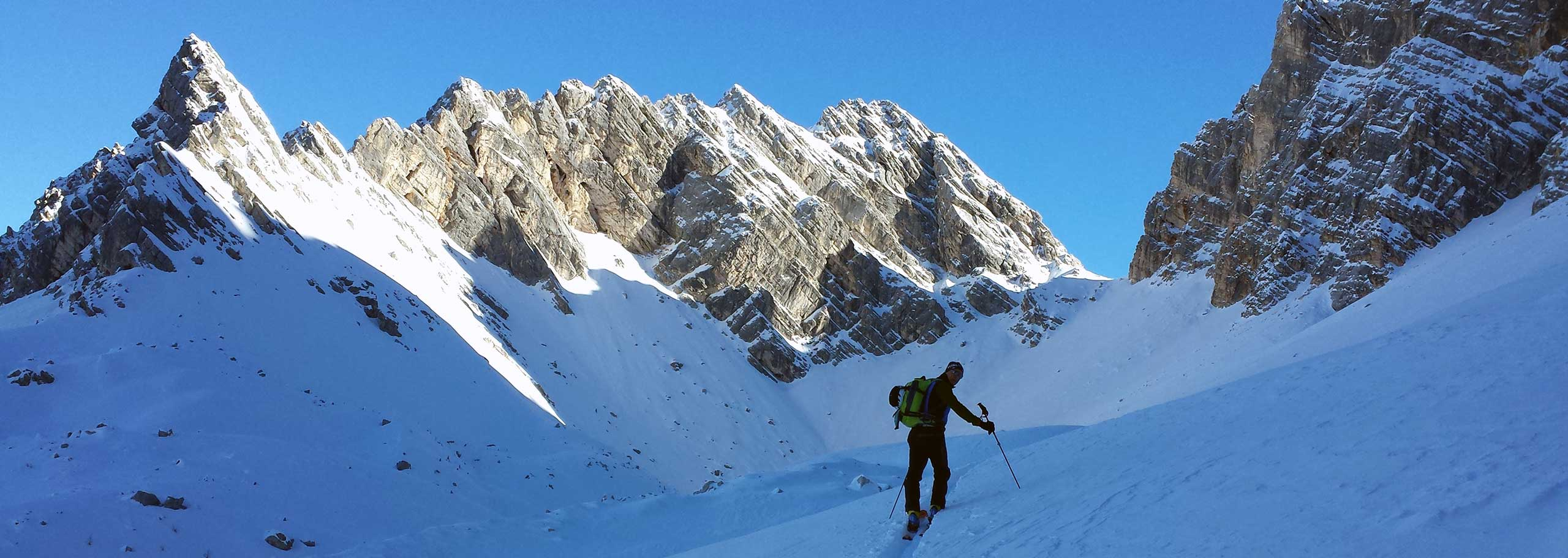 Ski Mountaineering with a Mountain Guide in Val di Zoldo