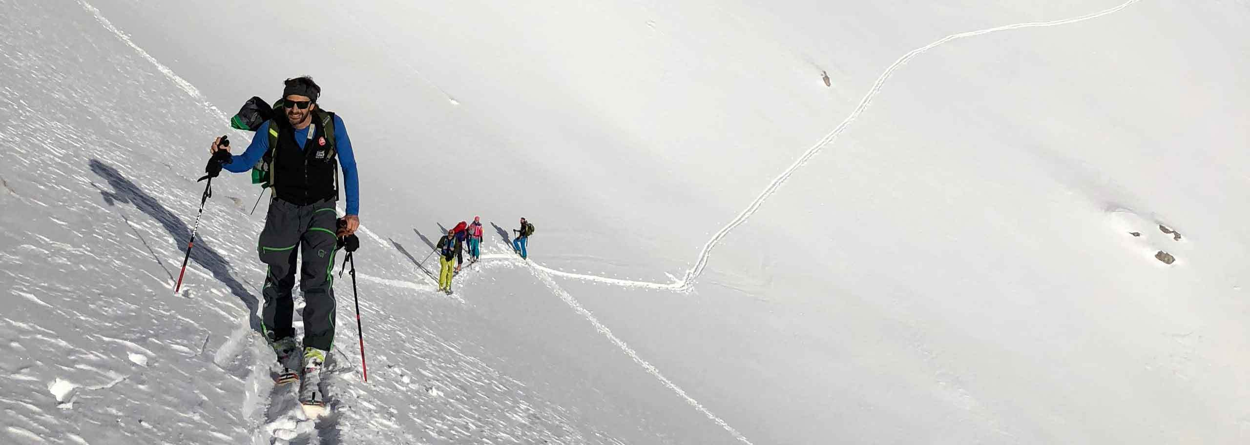 Ski Mountaineering with a Mountain Guide in Bormio