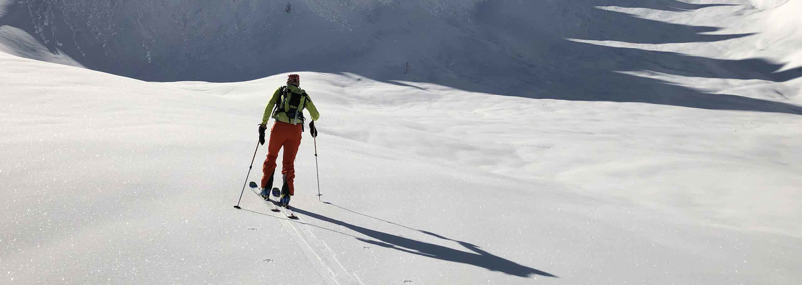 Ski Mountaineering with a Mountain Guide in Carezza