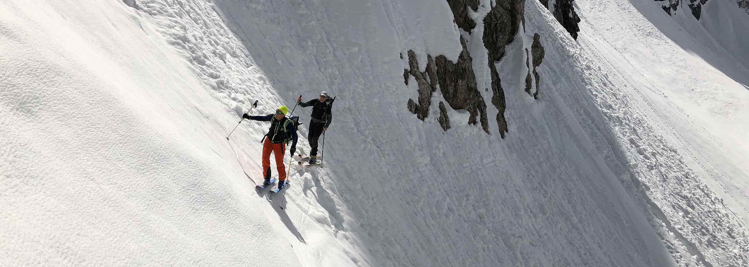 Ski Mountaineering with a Mountain Guide in Predazzo and Pampeago