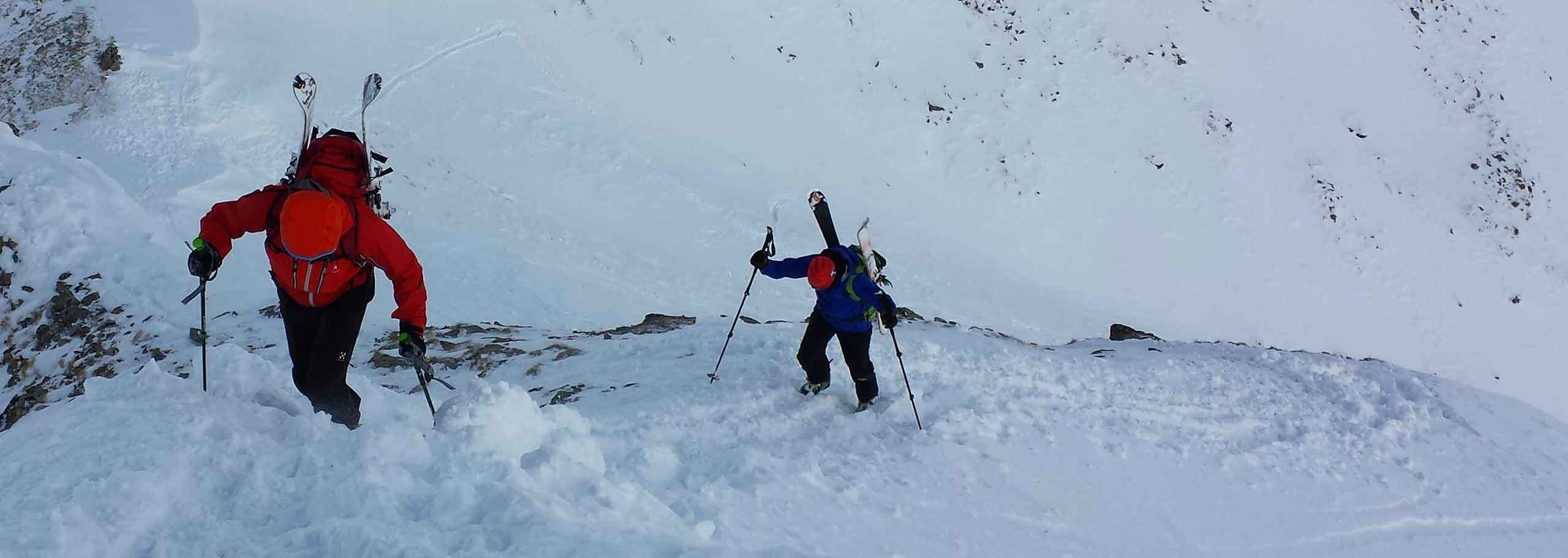 Ski Mountaineering with Mountain Guide in Madesimo