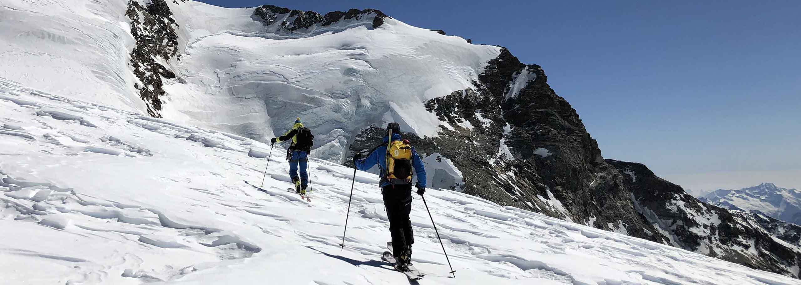 Ski Mountaineering with Mountain Guide in Alagna, Monte Rosa