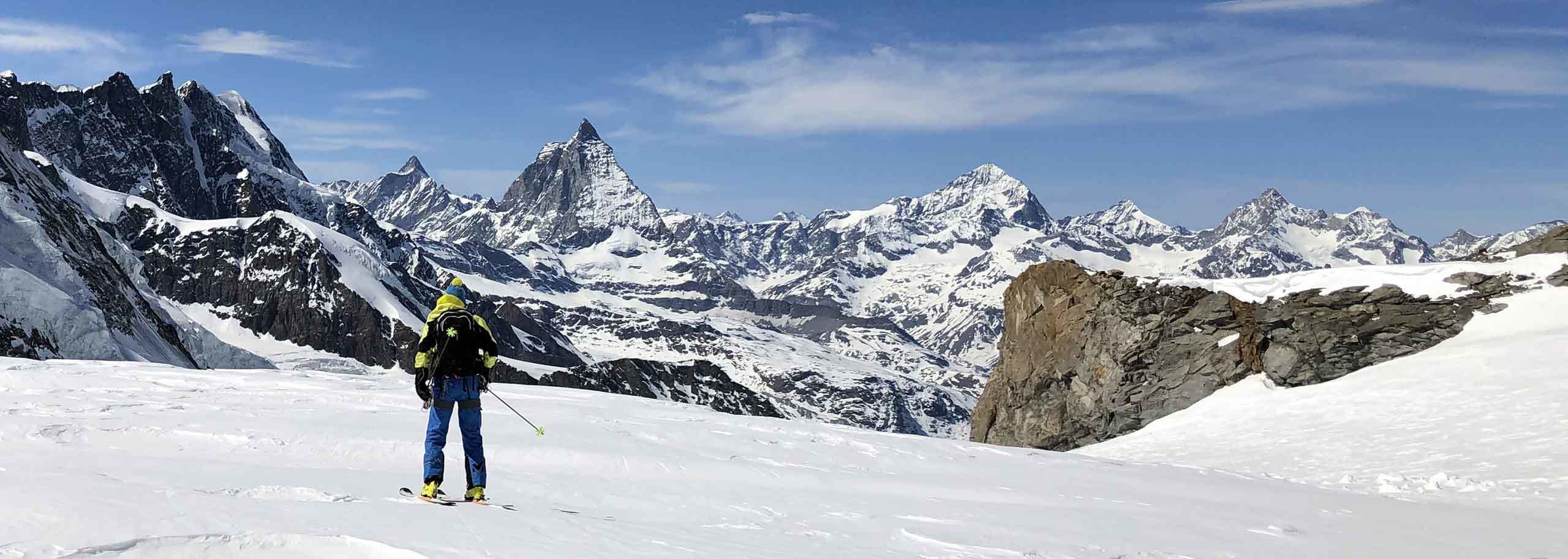 Ski Mountaineering with Mountain Guide in Cervinia, Matterhorn