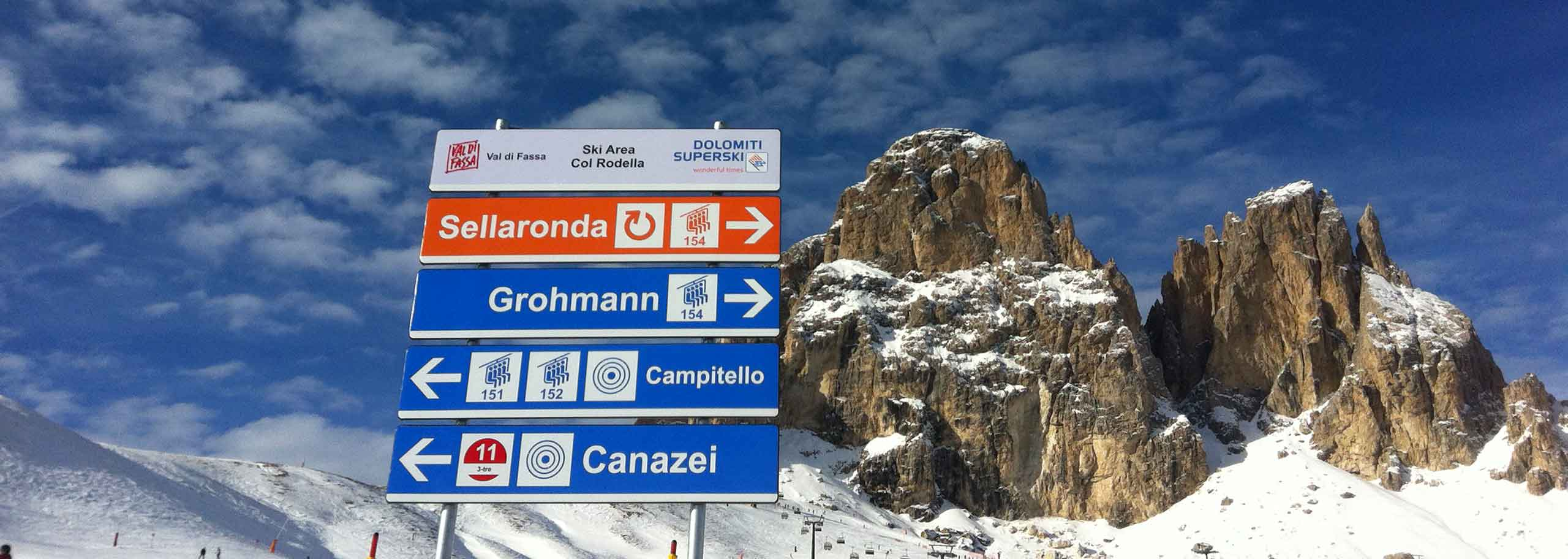Ski Tour with a Mountain Guide in Val di Fassa