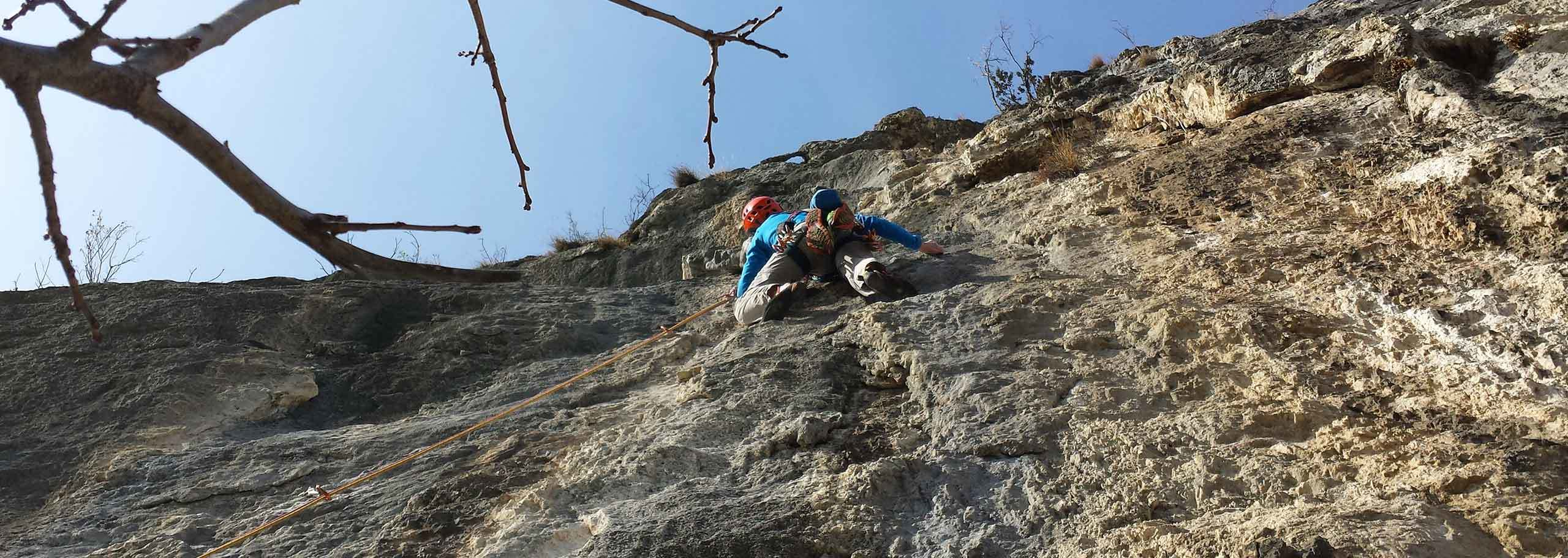 Climbing with a Mountain Guide in Solda