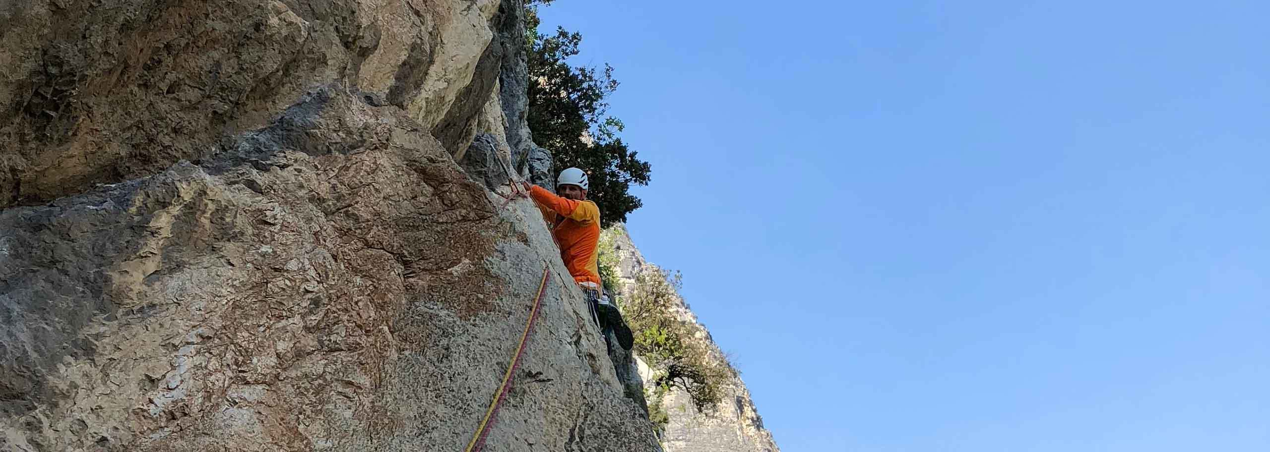 Rock Climbing in Alagna Valsesia with a Mountain Guide