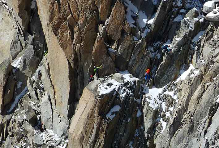 Rock Climbing Gran Paradiso National Park