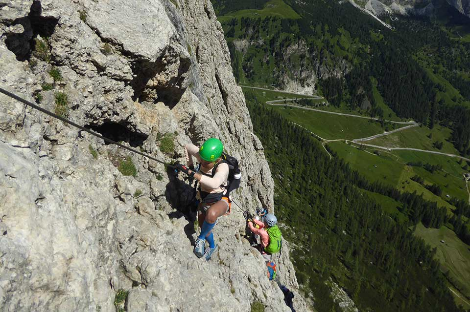 Ferrata Corvara in Badia