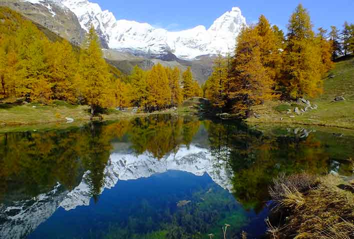 Trekking Gressoney Valley