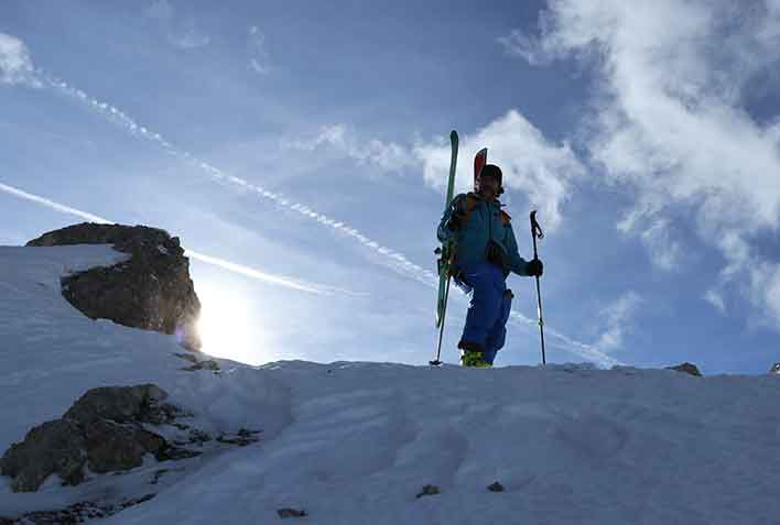 Ski Mountaineering in Bardonecchia